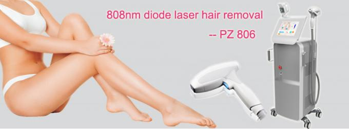Stationary Salon Laser Hair Removal Machine For All Types Of Skins 400W/600W/800W