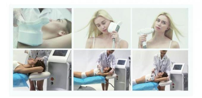 600w Permanent Hair Removal Equipment , Salon Laser Hair Removal System No Pain