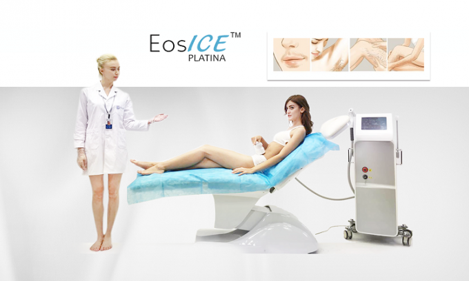 Medical Grade Salon Laser Hair Removal Machine 808nm CE Approved No Pain