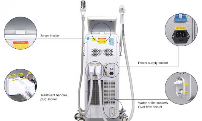 Newest System Professional Diode Laser Hair Removal Machine Stationary Style