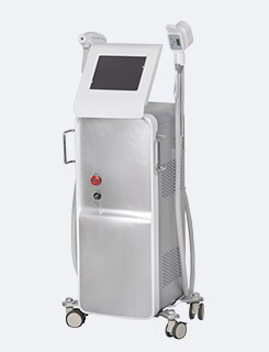 IPL+ RF Q Switched ND YAG Laser Machine Tattoo Removing Equipment 1-10HZ
