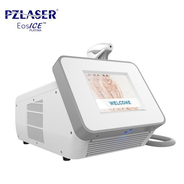 Medical Equipment 808nm Laser Depilation Machine Hair Removal 1 - 20Hz Frequency