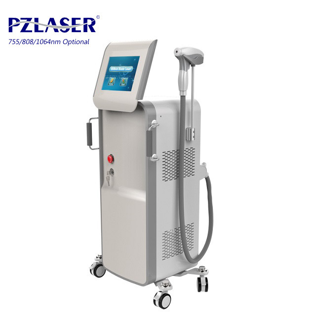 Ladies Armpit Diode Laser Hair Removal Machine Use Semiconductor Technology