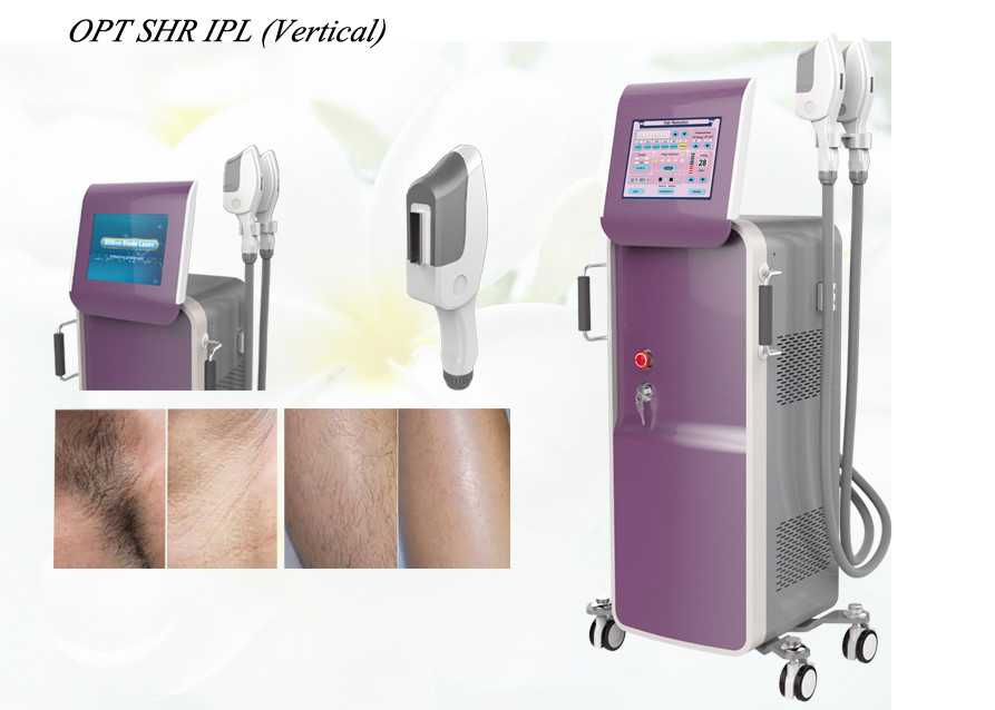 Skin Care Ipl Shr Hair Removal Machine For Home Use Dual