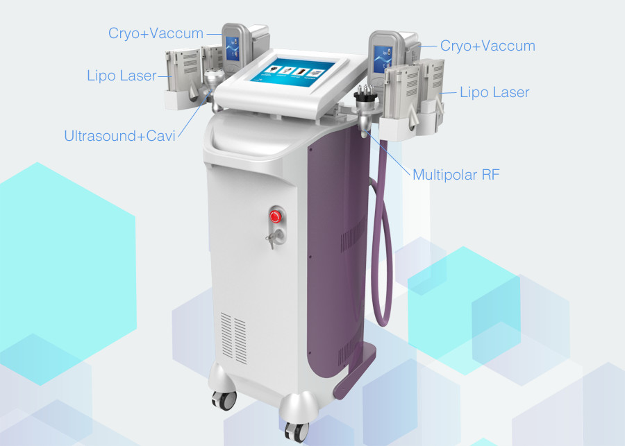 5 In 1 40K Cavitation Ultrasound Multifunction Beauty Machine Radio Frequency