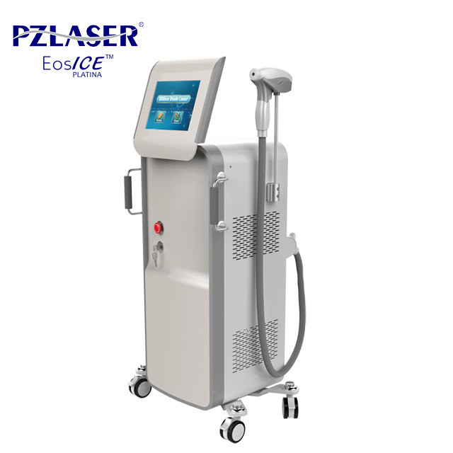 10 Laser Bars Professional Laser Hair Removal Machine Dual Mode With Cooler Handle