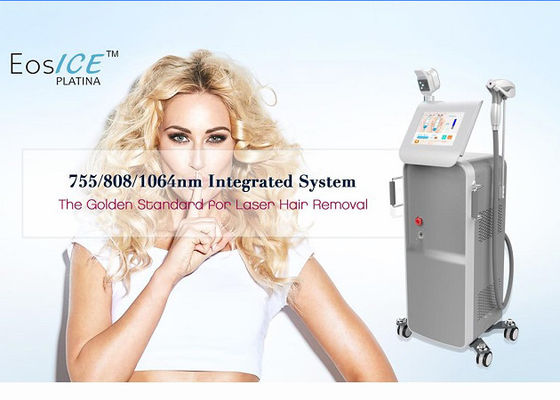 China FDA Approved Lazer Hair Removal Machine / Permanent Hair Removal System With Cooler Handle factory