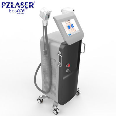 China Vertical Permanent Salon Laser Hair Removal Machine For Bikini Area factory