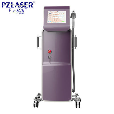 China 10w Medical Laser Hair Removal Machines / 808nm Diode Laser Hair Removal System factory