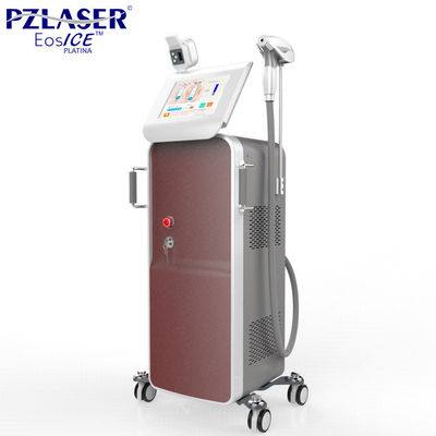China FDA Approved Germany Fast Diode Laser Hair Removal Machine 10Hz With 10.4' Display factory
