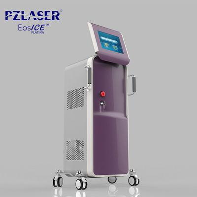 China Skin Tightening Diode Laser Hair Removal Machine For Unwanted Arm Bikini Hair factory