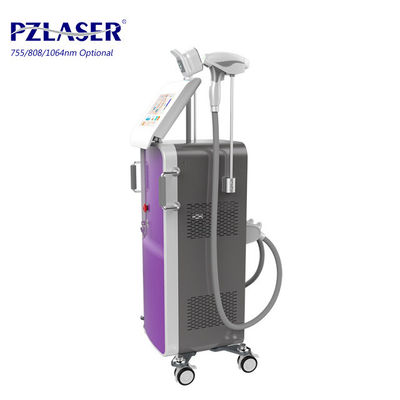 China 755nm 808nm 1064nm Diode Laser Hair Removal Machine For Man Legs Cheeks Beard factory
