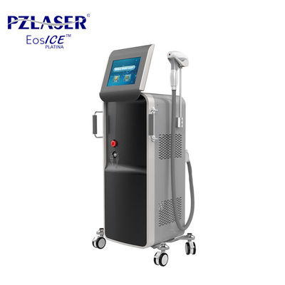 China Facial Hair Removal Laser Machine / Laser Depilation Equipment With 3 Wavelength factory