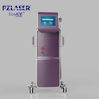 China Vertical 3 In 1 Pain Free Laser Hair Removal Machines / Laser Skin Care Machine factory