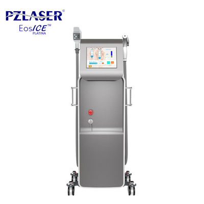 China Painless Fast Diode Laser Hair Removal Machine Skin Rejuvenation Equipment factory