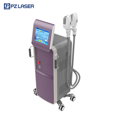 China Vertical Painless IPL SHR Hair Removal Machine For Acne Skin Treatment factory