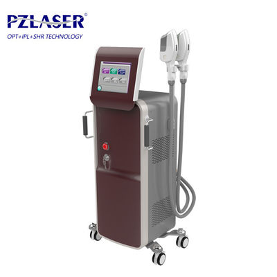 China Commercial IPL SHR Hair Removal Machine With Wrinkles Removal Function factory