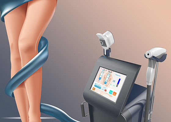 China Lightsheer Mobile Laser Hair Removal Machine For Dark Skin Rejuvenation 2000VA factory