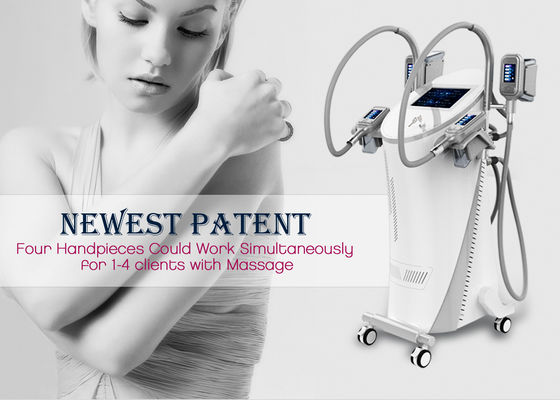 China Cool Tech Cryolipolysis Fat Freezing Machine , Safe Cosmetic Laser Equipment factory