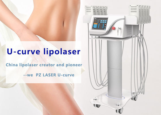 Fat Removal Lipo Laser Slimming Machine 755nm 808nm 1064nm Wavelength High Efficiency